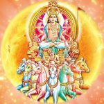 Surya Gayatri Mantra in English and Tamil