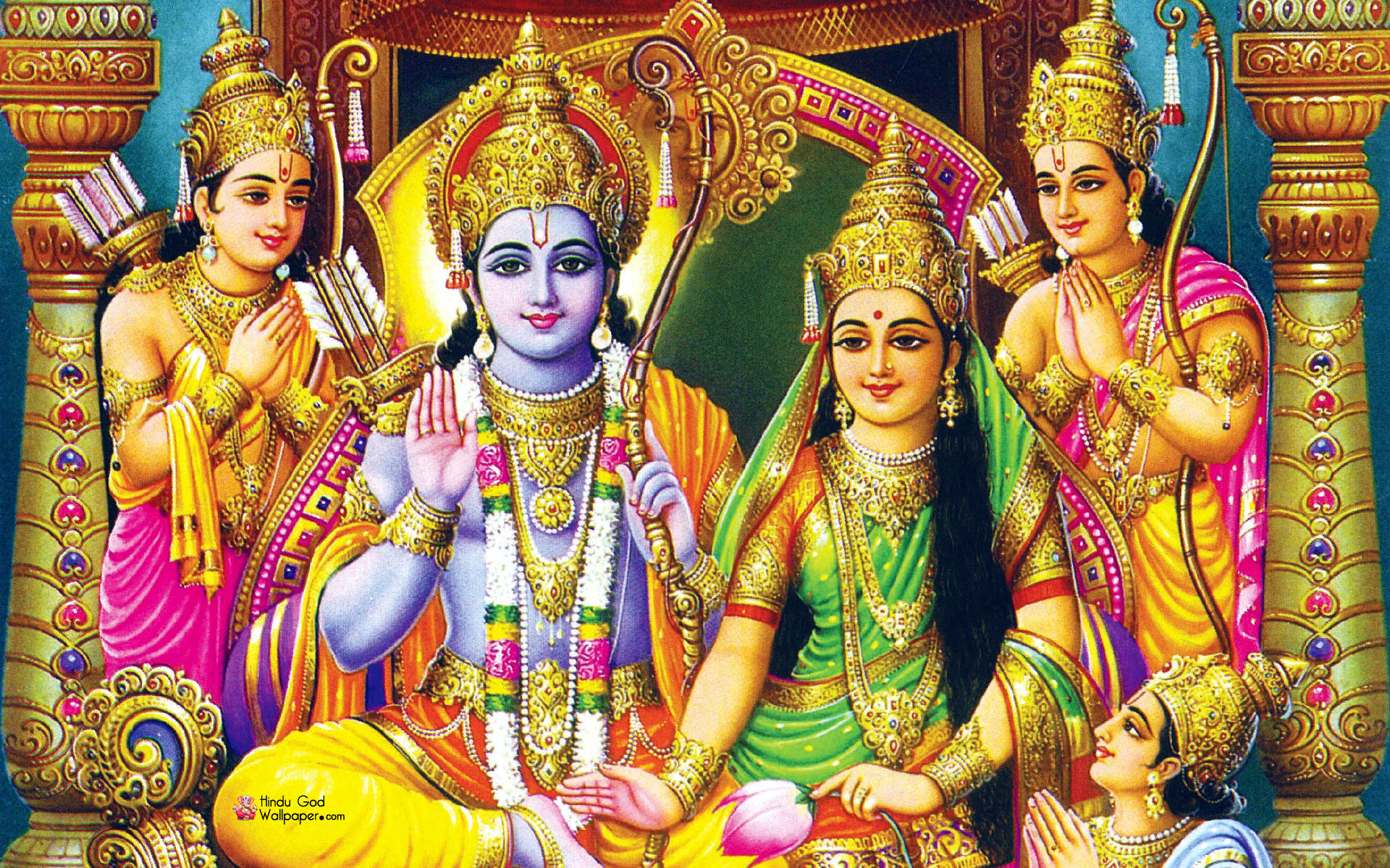 Lord Rama Hd Images For Mobile Desktop Wallpapers Divineinfogurucom