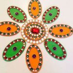 What is Muthalathi Kolam? How it can be drawn?