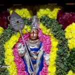 Flowers offered to Lord Muruga